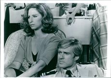 A scene from the film The Way We Were.1973