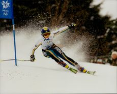 Martina Fort Code in full action during one of the grand slots in the 1998 Olympics.