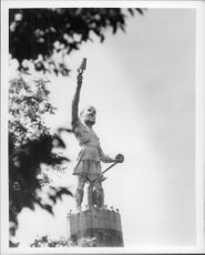 Photo of a statue in Alabama.