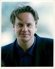 Portrait of Tim Robbins, actor