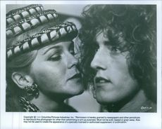 "Ann-Margret and Roger Daltrey in a scene from a 1975 British musical fantasy film, ""Tommy."""