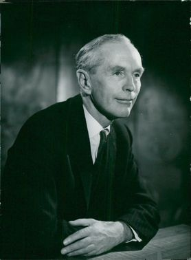 Portrait of Britain's Prime Minister Sir Alec Douglas-Home