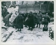 German civilians to transfer away from the battle area.