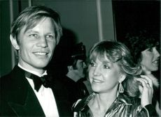 Michael York with his wife Pat.