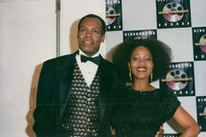 Danny Glover and Alfre Woodard at the Blockbuster Entertainment Awards