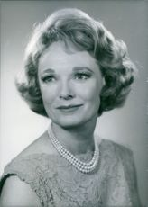 British actress, Anna Neagle, 1969.
