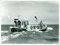A photograph of Barmouth Lifeboat.