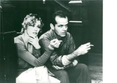 """Actors Jessica Lange and Jack Nicholson in the movie """"The Postman Always Calls Twice"""""""