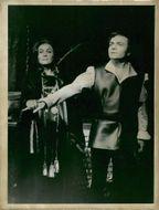 Ann-Marie Kraft and Tonny Landy in Verdis opera