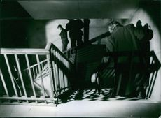A scene from the film Hets, 1944.