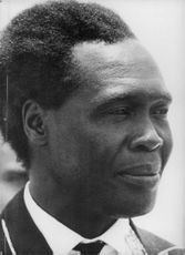 Portrait of Apolo Milton Obote.