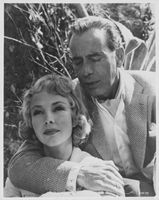 Humphrey Bogart and Jennifer Jones