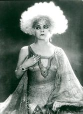 Asta Nielsen, silent film star loved by millions and active in Germany in the 1920s