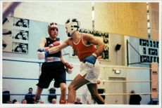 Michael Hall Boxing Fighter,Boxing Olympic Qualifying Boult