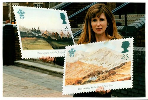 Stamps: Prince of Wales-Set of Five Stamps: Anna Hunter.