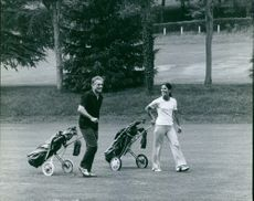 A view of Jacques Chaban-Delmas at the golf club.