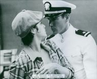 Debra Winger and Richard Gere in a scene from