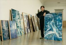 Bengt Olson, the warmth friend known in Paris than in Sweden shows 30 years of painting at the Konstakademin