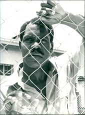 American actor  Danny Glover in the role of imprisoned South African Activist Nelson Mandela