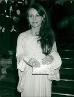 Sarah Miles at the Cannes Film Festival
