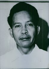 Close up of Indonesian politician Dr. Suharto