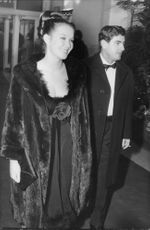 Marina Vlady with husband  Jean-Claude Brouillet