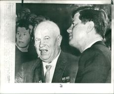 Mr. Khruschev and President Kennedy.