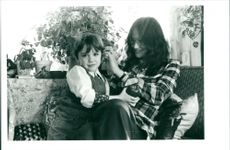 Linda Lovelace with son Dominic
