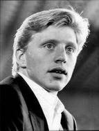 Portrait of tennis player Boris Becker