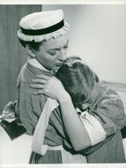 Swedish actress Barbro Hiort of Ornäs and Bibi Andersson in the film
