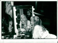 Held at the theatre Museum in covent Garden slap a celebration of stage make up.