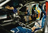 Rickard Rydell is preparing for the BTCC competition on Brands Hatch.