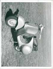View of scooter.