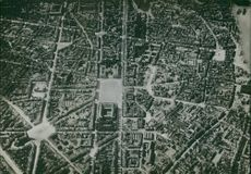 An Aerial view of a city of Lille (French pronunciation: [lil] ( listen); Dutch: Rijsel ['r?i?s?l]) is a city in the north of France, taken by the Germans during the first World War 1914-18