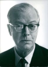 Portrait of british author Eric Ambler, 1970.