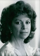 Chilean author, Isabel Allende. 1986.