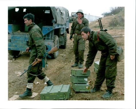 A group of renegade Bosnian Muslim soldiers.