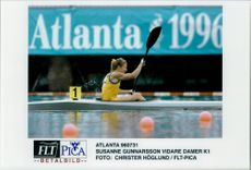 OS in Atlanta. Susanne Gunnarsson further Women K1