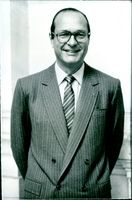 Jacques Chirac, Leader of the French R.P.R. party & Mayor of Paris