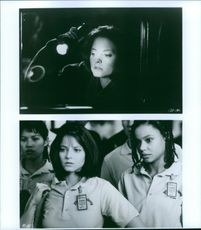 """Alicia Christian """"Jodie Foster"""" in the movie Silence of the Lambs."""