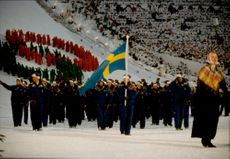 Opening of the Winter Olympiad in Lillehammer