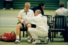 The tennis instructor Ulf Schmidt