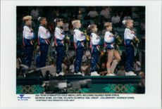 USA gymnastics team who took gold in the 1996 Olympic Games