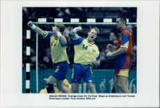 Sweden are ready for the Olympic final, Magnus Andersson and Tomas Sivertsson are happy