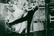 """Ginger Rogers and Fred Astaire dance in """"see you again!"""""""