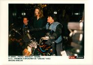 """Actress Brooke Shields at the premiere of """"Grease"""" on Broadway"""