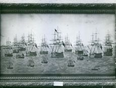 A British war fleet directed to hoteborg with instructions to avoid hostile actions.