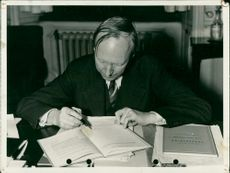 Swedish Politician Ernst Wigforss