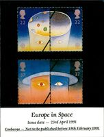 Stamps: British Commonwealth: Europe in Space.