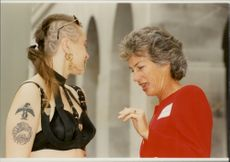 Virginia Wade is fascinated by an alternative fashion
